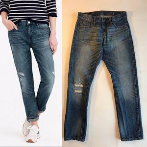 J Crew Slim Broken-in Boyfriend Jeans 25 Vintage